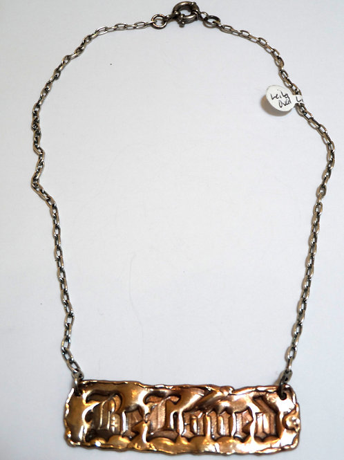 Be Loved necklace by Leyla