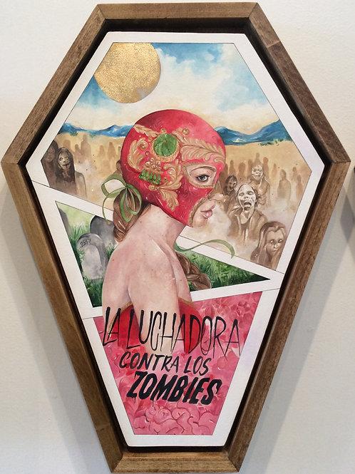 """""""La luchadora contra las zombies"""""""