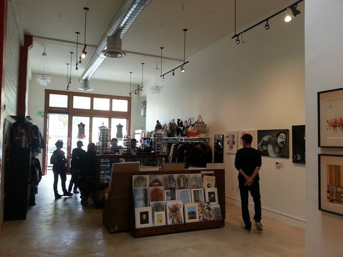 Wonderland Sf is officially open at 1266 Valencia Street
