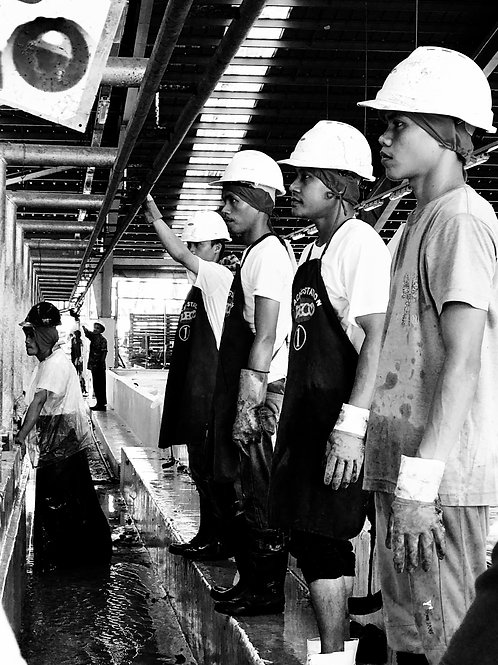 The Banana workers, Davao, Philippines