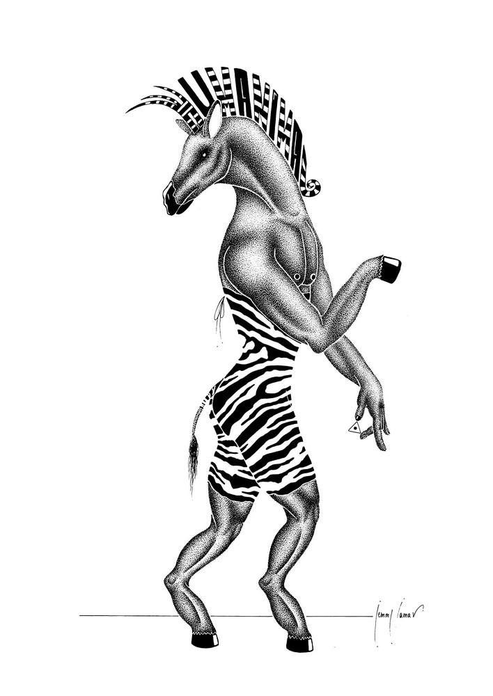 Equiferus Illuminae - BESTIARUM HUMANIMA