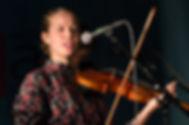Ameican Rhythm girl playing violin at Summerfest