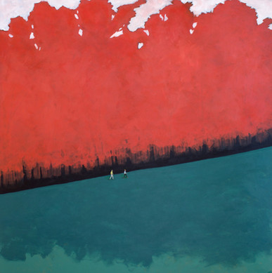 Red Forest by Sam Walker