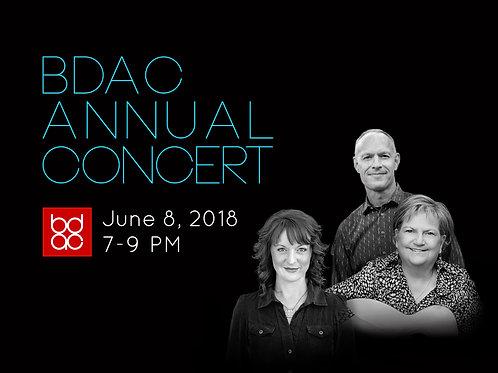 BDAC Concert Ticket