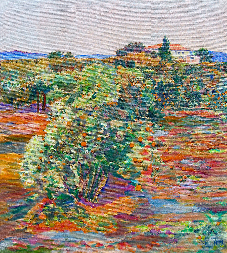 """Orange Grove Near Altea"" by Hubertine Heijermans"