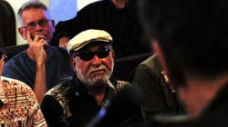 Ron Espinoza watching Steve concert