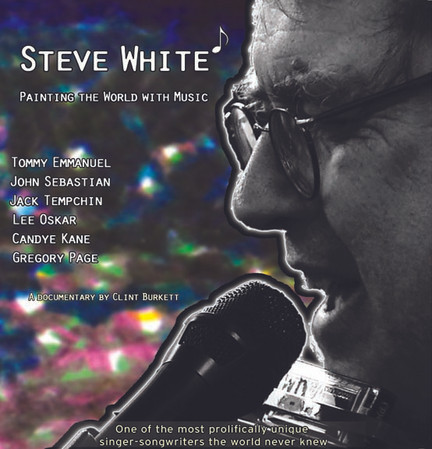 Steve White is Painting the World with music soon. A New Years message!