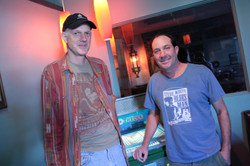 Clint with Tom Yearsley