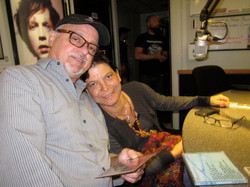 Tom Zizzi & Alda Leal at FM94.9