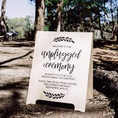 Unplugged Ceremony A Board