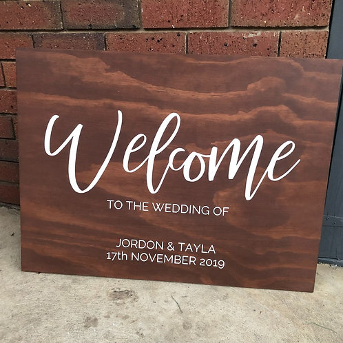 THE 'JAY' WELCOME SIGN