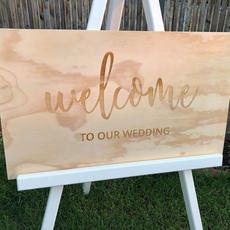 Engraved Welcome