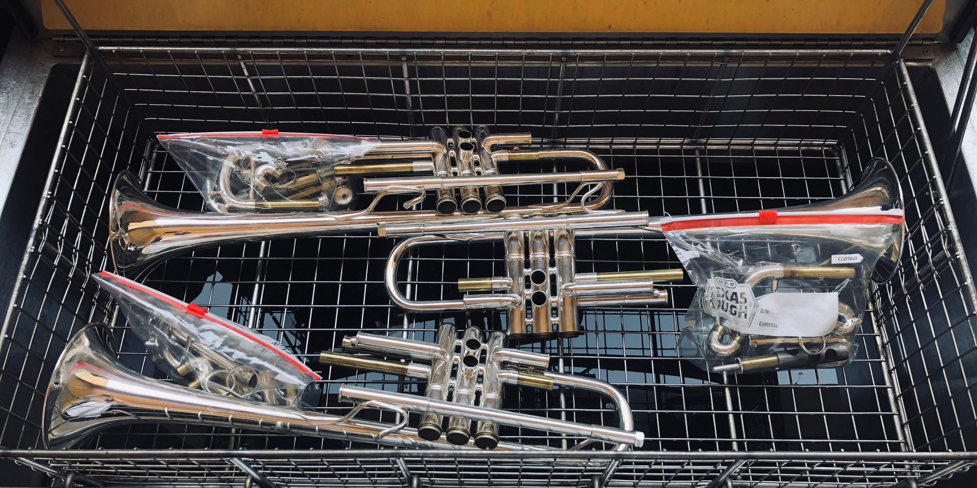 Trumpets in the tank