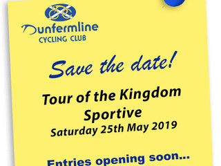 DCC Tour of the Kingdom Sportive Date Announced