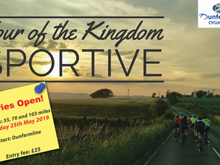 Entries Open for Tour of the Kingdom Sportive