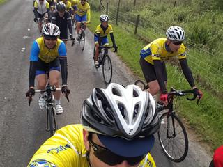 June's Club 100 Ride - Headwinds, Bikers, a Duke and Romance!