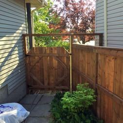 Fence demolition and installation