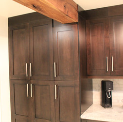 Custom Cabinets, Beam Casing