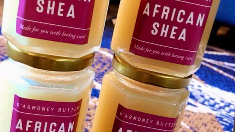 D'armoney African Shea Butter Oil 8oz