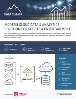 Data Clymer Sports Solution