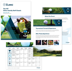 Charity Golf Packet