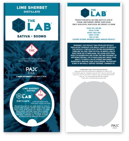 LAB PAX Pod Packaging