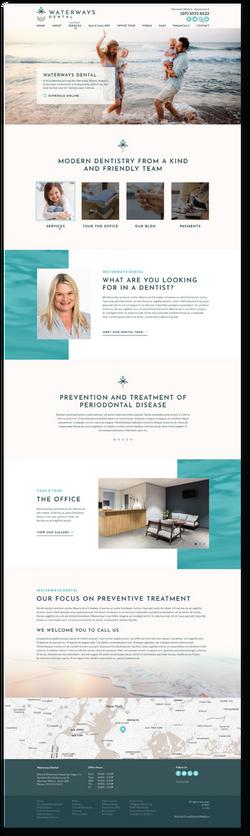 Waterways Dental Website