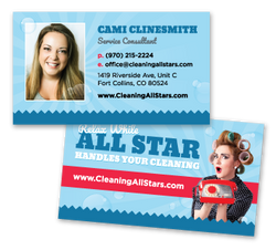 All Star Cleaning Business Card