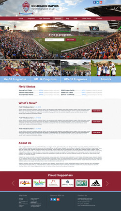 Colorado Soccer Website