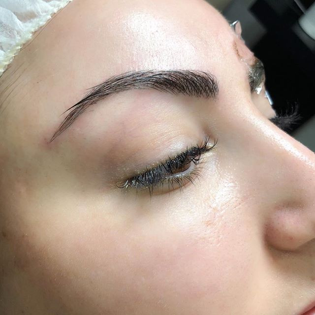 Microblading Eyebrows by Blanca