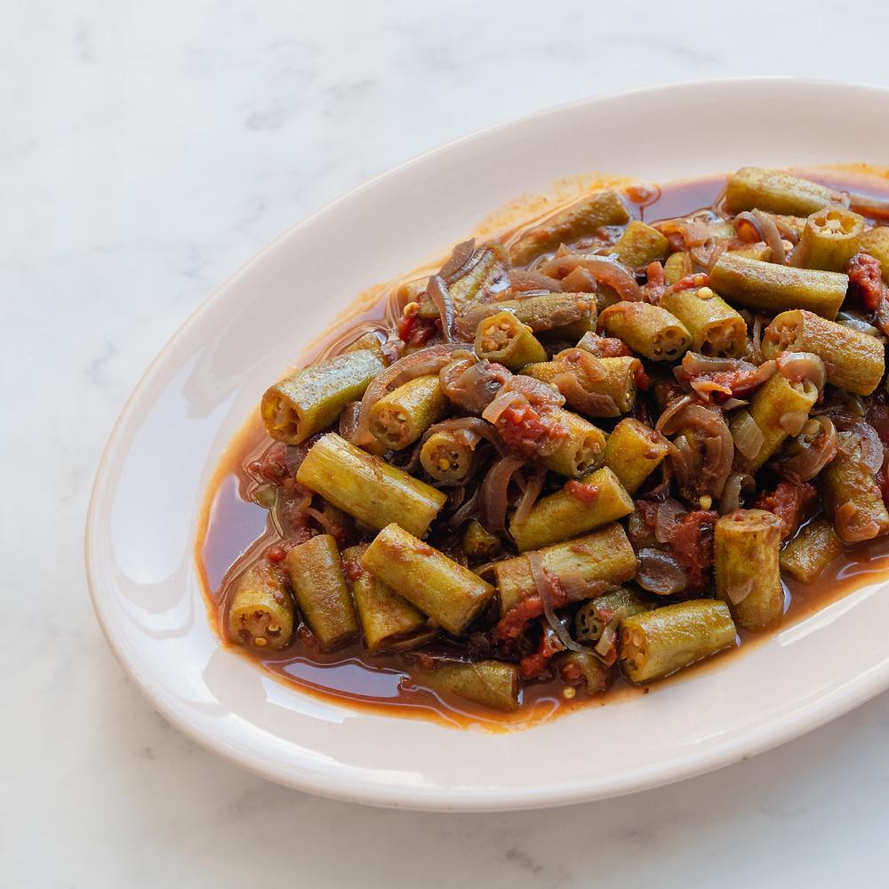 receita de quiabo à indiana (bhindi sabzi)