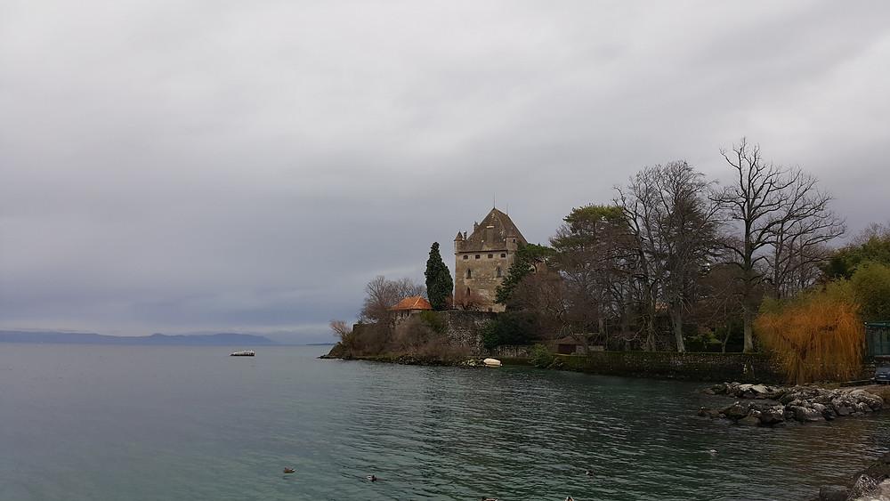 Lac Leman, Genebra
