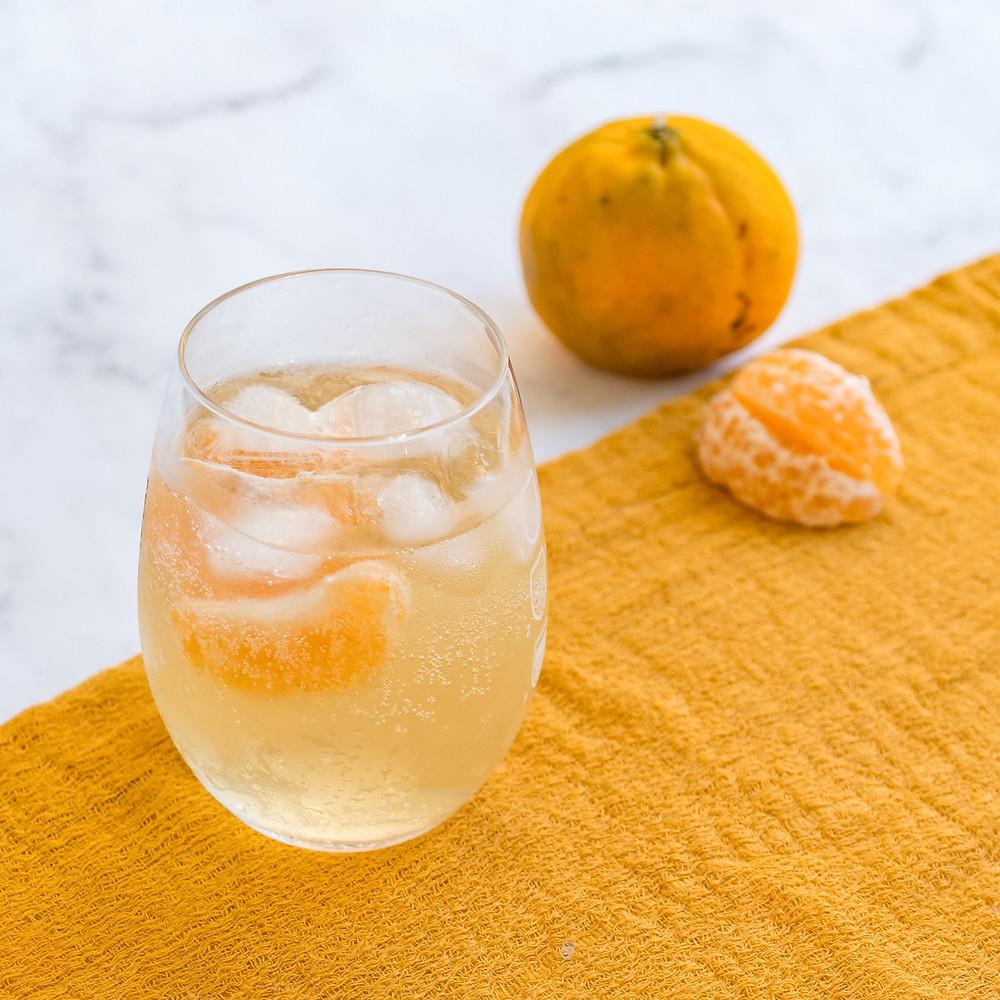 tangigin - drink de gin com tangerina