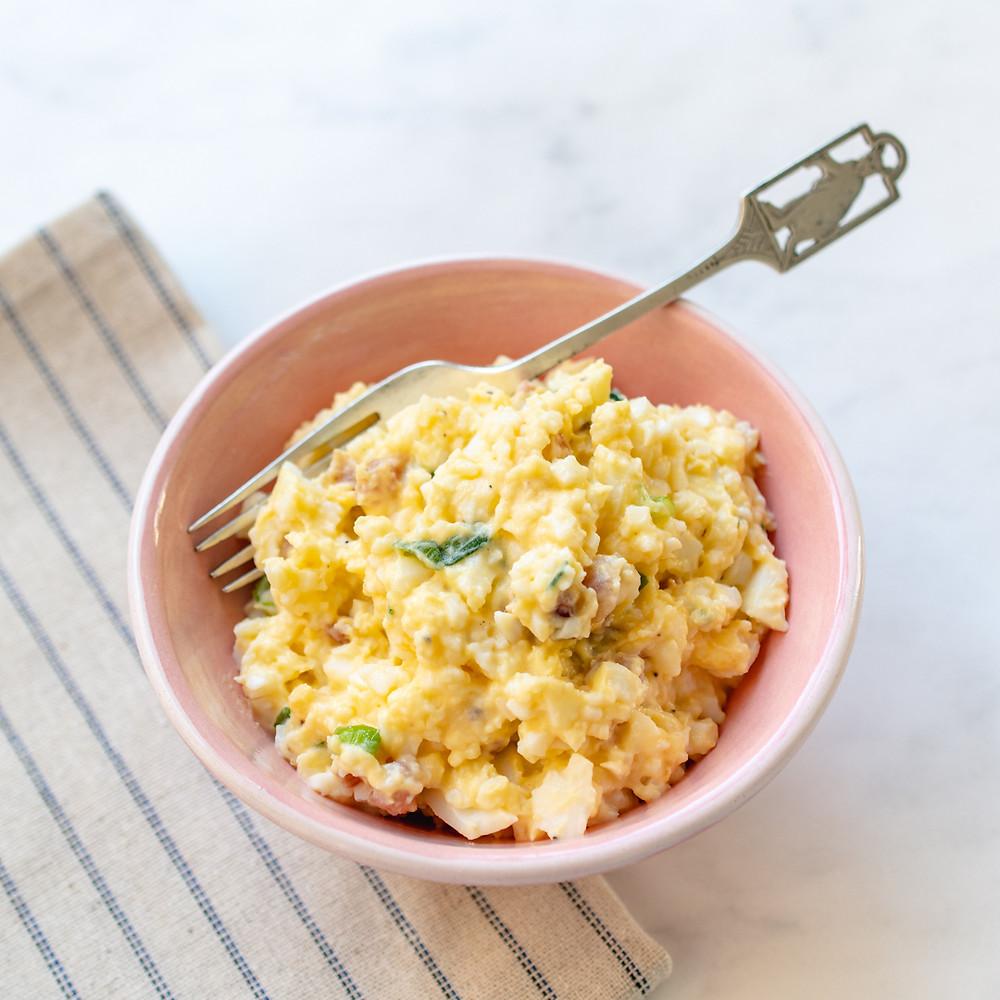 Receita de patê de ovos