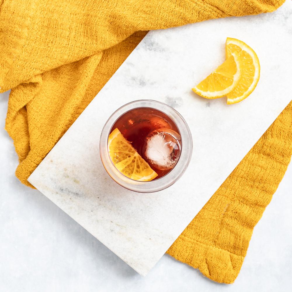 Receita de Ein Gift, drink de vermute com gin