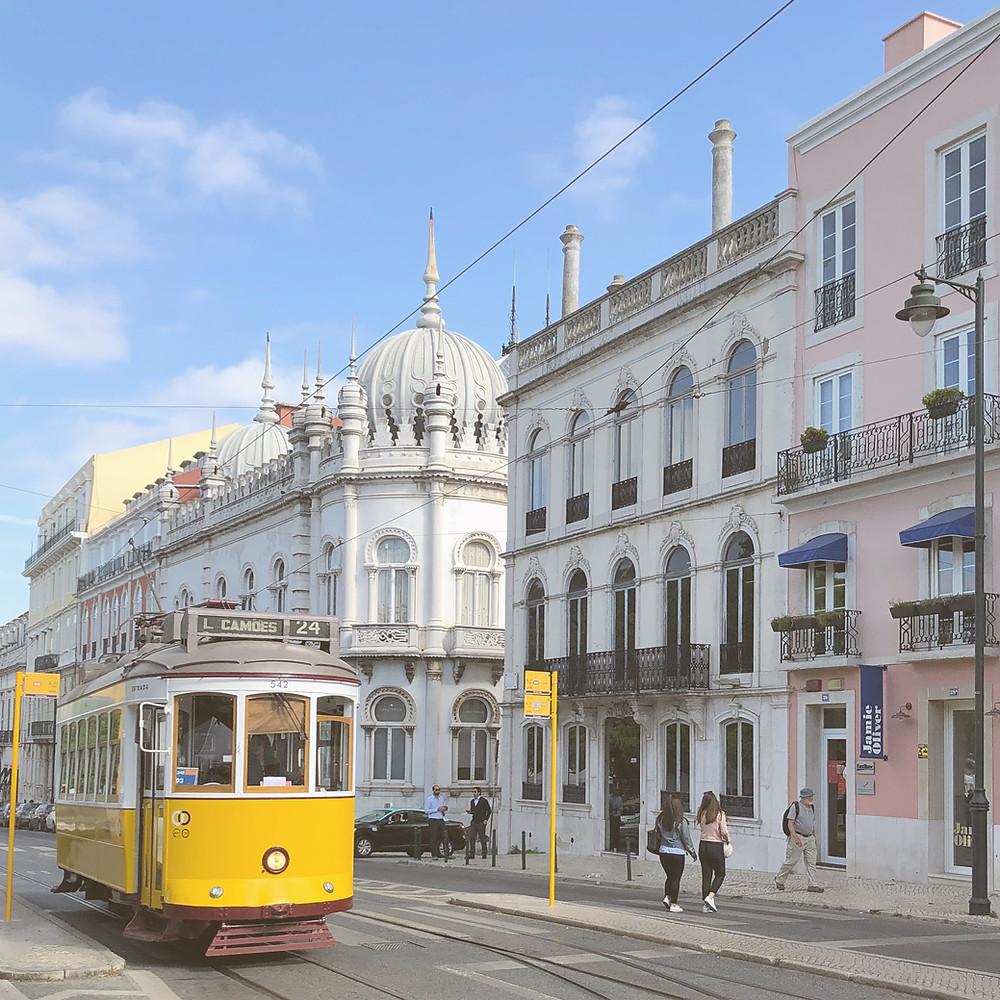 Comboio em Lisboa