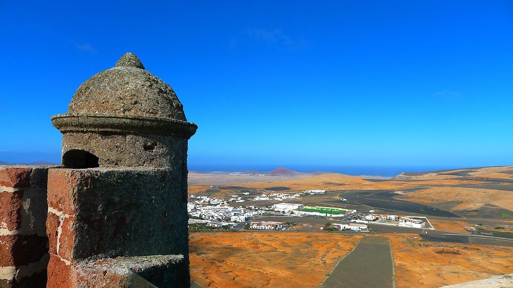 Castillo de Santa Bárbara, Lanzarote, ilhas canárias