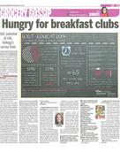 Kellogg's Breakfast for Better Days Infographic