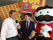 Designed Branding for Pringles DIP-bate Campaign