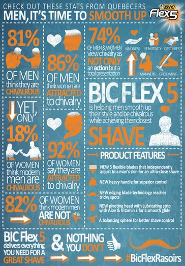 BIC Razor Infographic