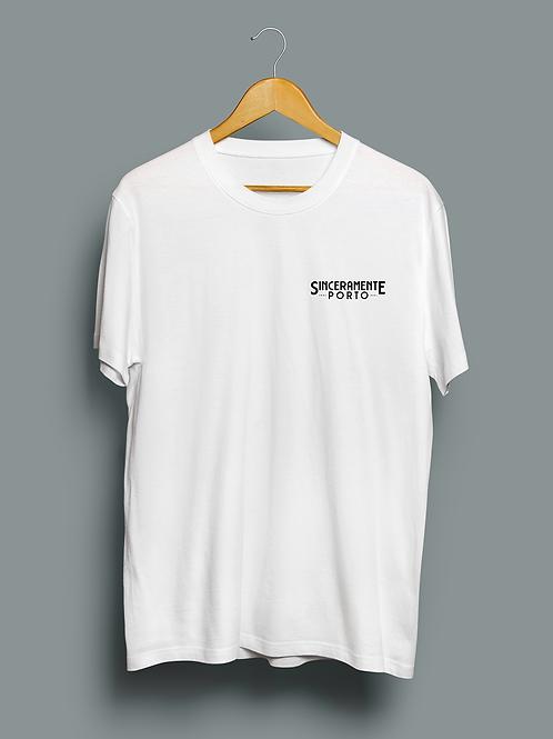 "CD + T-shirt White Limtd edit 50un ""Sinceramente Porto"" Pré venda"