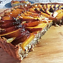 Nectarine Almond Tarte