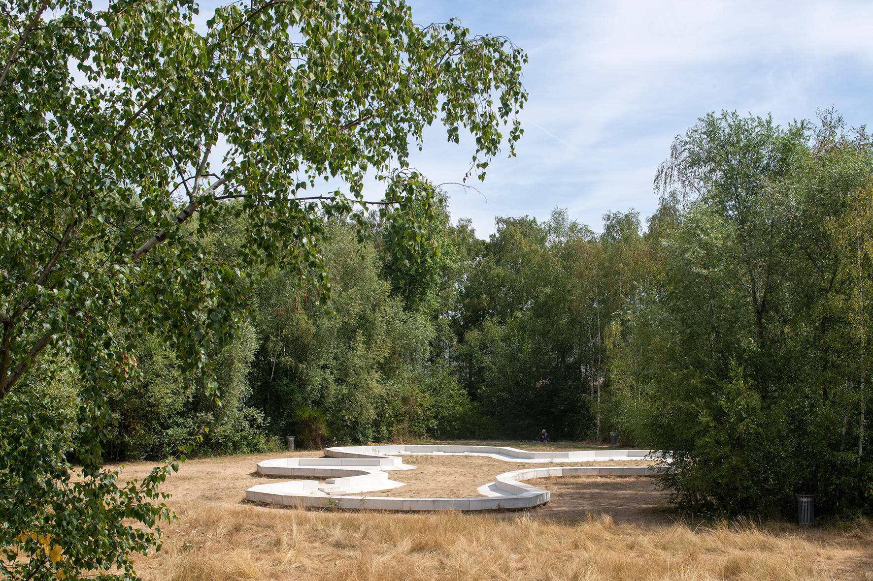 Jardin des Étangs Gobert