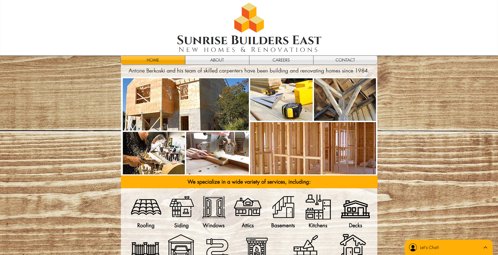 Sunrise Builders East