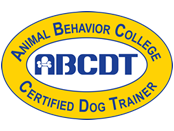 Animal Behavior College Certified Dog Trainer (ABCDT) Logo