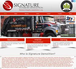Signature Demolition