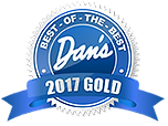 Best of the Best Dan's Gold Winner 2017