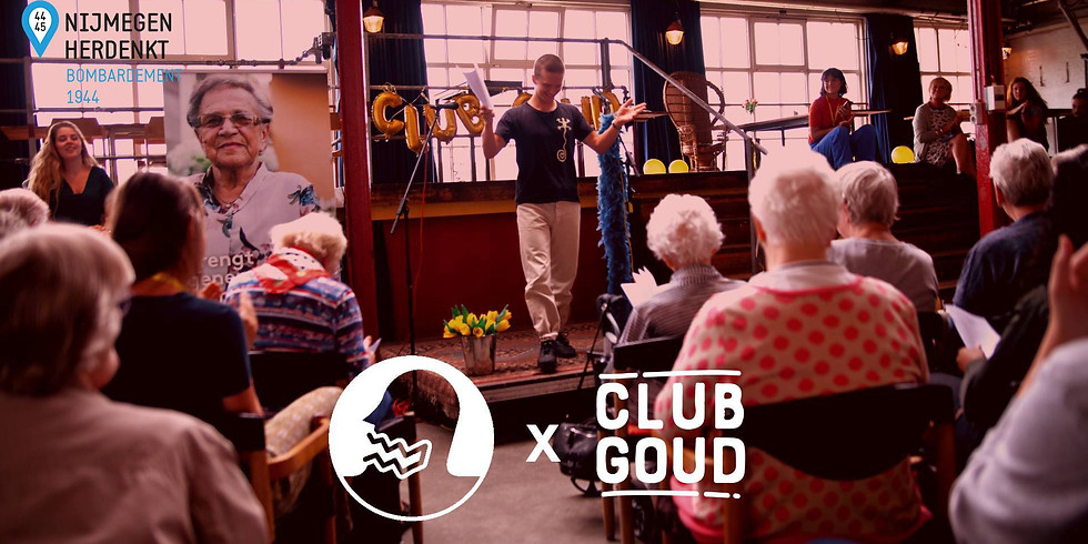 Mensen Zeggen Dingen x Club Goud - 75 jaar na het bombardement
