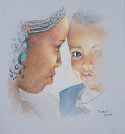 Ethiopia Mother & Child