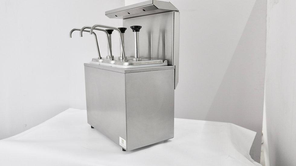 Sanitizador para dispensador de salsas UV-C